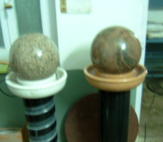 Garden ball fountains
